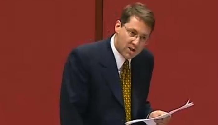 Senator Brett Mason speaking about something else